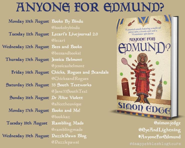 Anyone for Edmund? blog tour banner