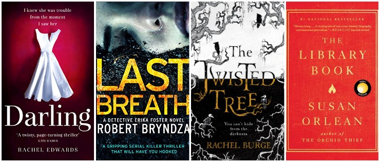 Darling, Last Breath, The Twisted Tree, The Library Book