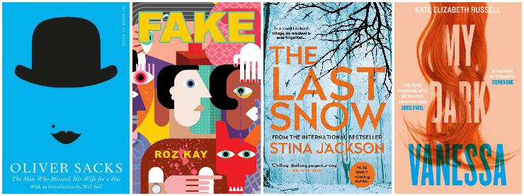 The Man Who Mistook His Wife for a Hat and other clinical tales, Fake, The Last Snow, My Dark Vanessa