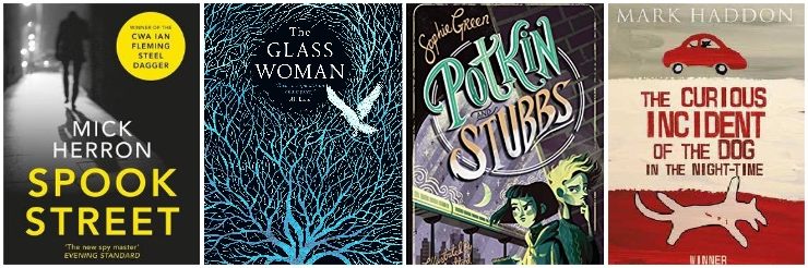 Spook Street, The Glass Woman, Potkin and Stubbs, The Curious Incident of the Dog in the Night-Time