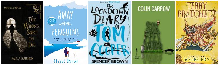 The Wrong Sort to Die, Away with the Penguins, The Lockdown Diary of Tom Cooper, Six Feet Under, Sourcery