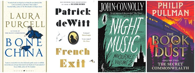 Bone China, French Exit, Night Music, The Secret Commonwealth