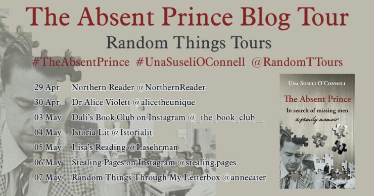 The Absent Prince blog tour banner