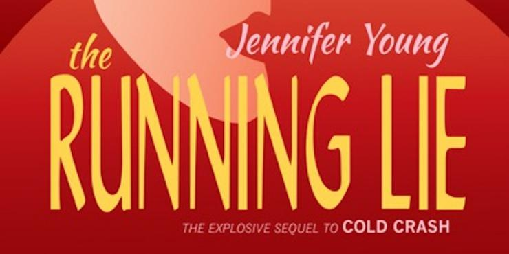 Blog tour: The Running Lie by Jennifer Young